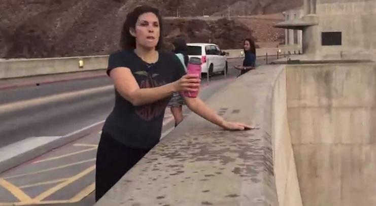 Magic Water At Hoover Dam