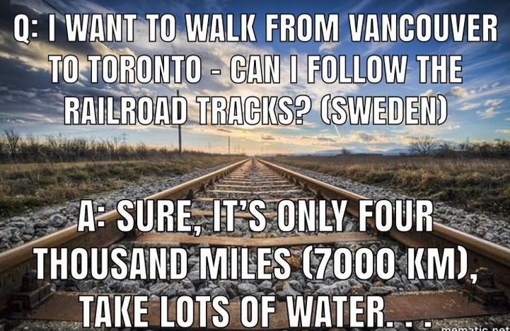 Tourist Questions About Canada