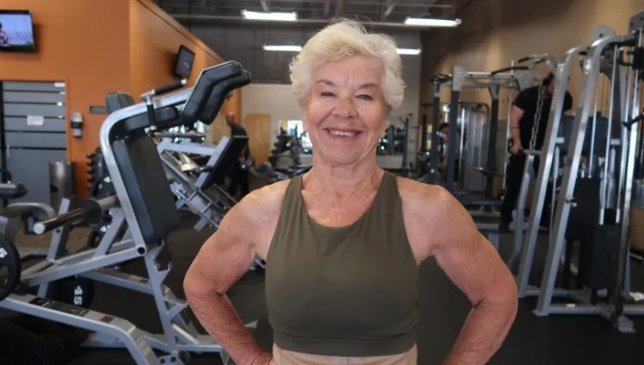 Young At 73 – Go Girl!